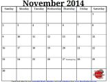 November 2014 Blank Calendar Template 9 Best Images Of Printable November Monthly Schedule