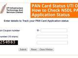 Nsdl Pan Card Name Search Pan Card Status Know Here How to Nsdl & Uti Pan