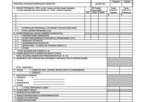 Nsf Budget Template 17 Sample Budget Proposal Templates to Download Sample