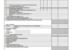 Nsf Budget Template 7 Budget Proposal Templates Free Samples Examples