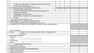 Nsf Budget Template Budget Template 10 Free Excel Pdf Documents Download