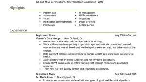 Nurse Job Application Resume Use This Professional Registered Nurse Resume Sample to