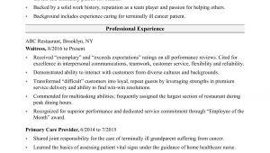 Nursing assistant Resume Sample Nursing assistant Resume Sample Monster Com