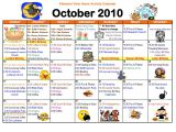 Nursing Home Activity Calendar Template 9 Best Images Of Weekly Activity Calendar Template