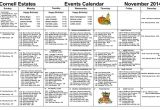 Nursing Home Activity Calendar Template Nursing Home Activity Calendars Calendar Printable 2018