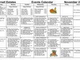 Nursing Home Activity Calendar Template Nursing Home Activity Calendars Calendar Printable 2018