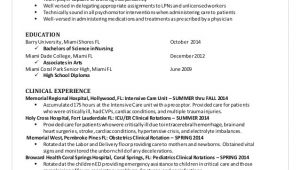 Nursing Student Qualifications Resume Kaylee 39 S Nursing Resume 2014