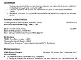 Nursing Student Resume Clinical Experience Pin by Ririn Nazza On Free Resume Sample Student Nurse