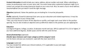 Nursing Student Resume Sample Nursing Student Resume 8 Examples In Word Pdf