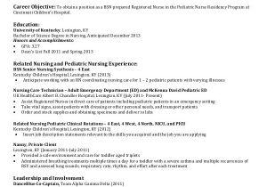 Nursing Student Resume Template Word Nursing Student Resume Example 10 Free Word Pdf