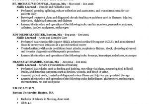 Nursing Student Resume with No Experience Pdf Entry Level Nursing Student Resume Sample Tips