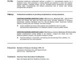 Nursing Student Resume with No Experience Radtourism Co