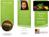 Nutrition Brochure Template Nutrition Brochure Template Nutrition Ftempo