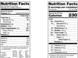 Nutrition Facts Table Template Blank Nutrition Facts Label Template Nutrition Ftempo