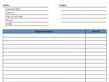 Nvoice Template Invoice Templates Microsoft and Open Office Templates