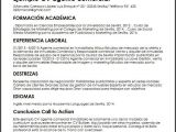 Objetivo Profesional Resume Curriculum Vitae Objetivo Profesional Ejemplos