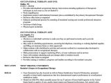 Occupational therapy Student Resume Example Occupational therapy Resume Samples Velvet Jobs