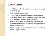 Oci Cover Letter Oci Cover Letter Oci Application
