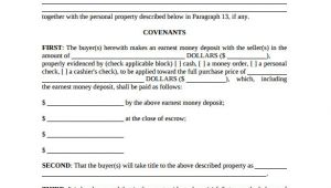 Offer and Acceptance Contract Template Real Estate Contract Template 14 Download Free