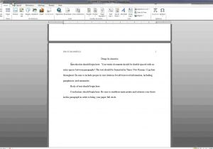 Office 2007 Apa Template September 8 2016 Officetutes Com