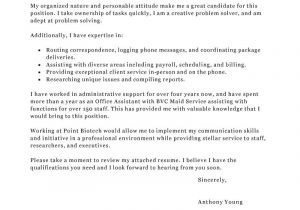 Office associate Cover Letter Office assistant Cover Letter Examples Administration
