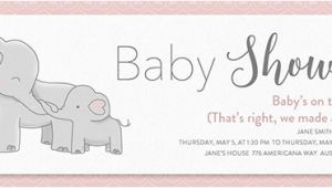 Office Baby Shower Email Template Free Baby Shower Invitations Evite