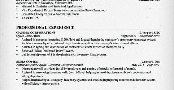 Office Clerk Resume Sample Entry Level Office Clerk Resume Sample Resume Genius