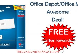 Office Depot Flyer Templates Office Depot Office Max Avery Address Labels Free after