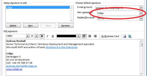 Office Email Signature Templates Roaming Outlook Mail Signature with Ue V the Experience Blog