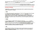Office Rental Contract Template 10 Office Lease Agreement Templates Free Sample