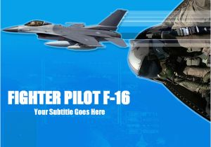 Official Air force Powerpoint Template F16 Fighter Ppt Template Download Powerpoint Templates