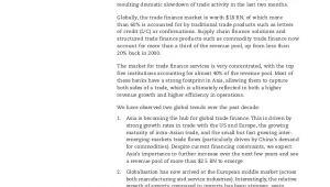 Oliver Wyman Cover Letter Oliver Wyman Transaction Banking Trade Finance