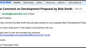 On Behalf Of Email Template Sales Proposal Email is An Invitation Sent On Behalf Of A