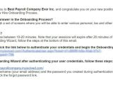 Onboarding Email Template Employee Onboarding Template Simplify the Addition Of