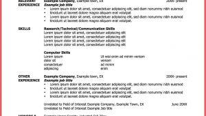 One Employer Resume Sample One Employer Resume Sample Memo Example