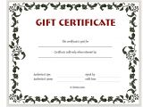 Online Gift Certificate Template Adolphe Sax Printable Gift Certificates