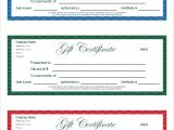 Online Gift Certificate Template Free Gift Certificate Template and Tracking Log