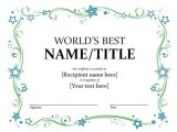 Online Gift Certificate Template Free Gift Certificate Templates Microsoft Word Templates