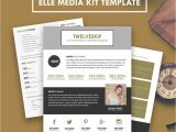 Online Media Kit Template Elle Media Kit Template Hip Media Kit Templates