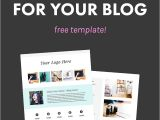 Online Media Kit Template How and why to Create A Media Kit for Your Blog Free