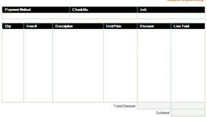 Online Sales Receipt Template Receipt Template Microsoft Word Templates