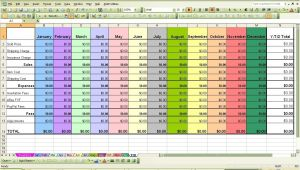 Open to Buy Excel Template Open to Buy Excel Spreadsheet Spreadsheets