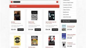 Opencart Bookstore Template Bookstore Open Cart Website Templates themes Free