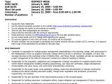 Operation Manager Resume Sample Doc It Project Manager Resume Sample Doc Resume Ideas