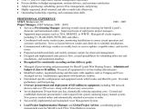 Operation Manager Resume Sample Doc It Project Manager Resume Sample Doc Resume Template Free