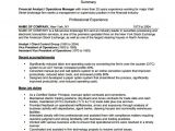 Operations Manager Resume Word format 10 Sample Operation Manager Resumes Sample Templates
