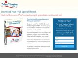 Opt In Page Template Sales Pages Landing Pages and Squeeze Pages Bourn Creative