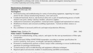 Optical Fibre Engineer Resume 14 Things You Need to Know Realty Executives Mi