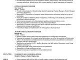 Optical Fibre Engineer Resume Optical Design Engineer Resume Samples Velvet Jobs