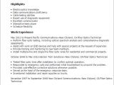 Optical Fibre Engineer Resume Science Resume Templates to Impress Any Employer Livecareer